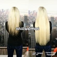 Наращивание волос HairWoman.