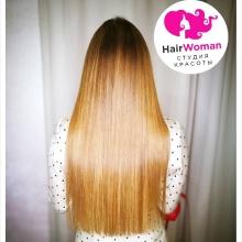 175 прядей, работа заняла всего час! В отличие от других, мы не используем фотошоп для обработки фотографий! Стань красоткой с HairWoman! Красивые, шикарные волосы - основа образа!