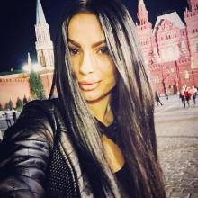 Селфи после наращивания на Красной площади